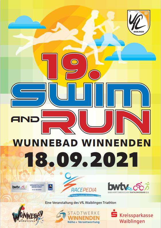Swim & Run Flyer vorne